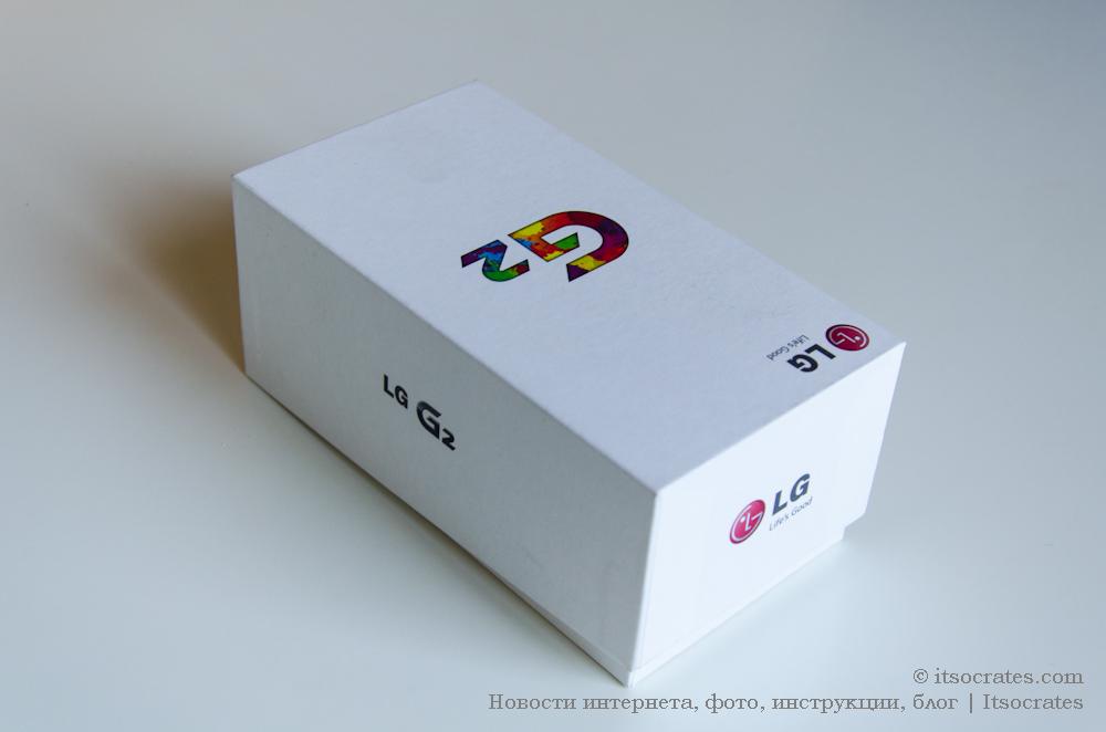 Телефон LG G2 обзор комплектации