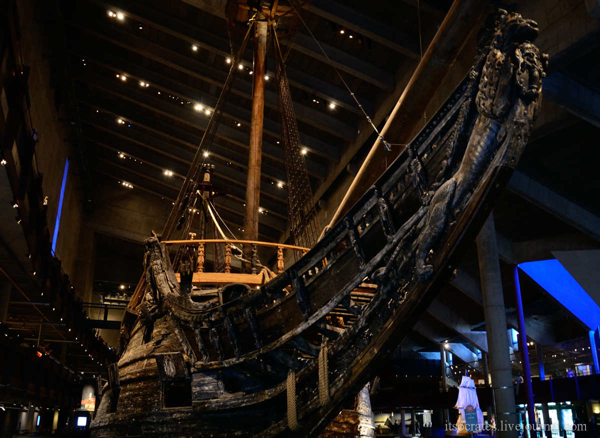 "Фото обзор музея Стокгольма - ""Васа"" музей в Стокгольме"