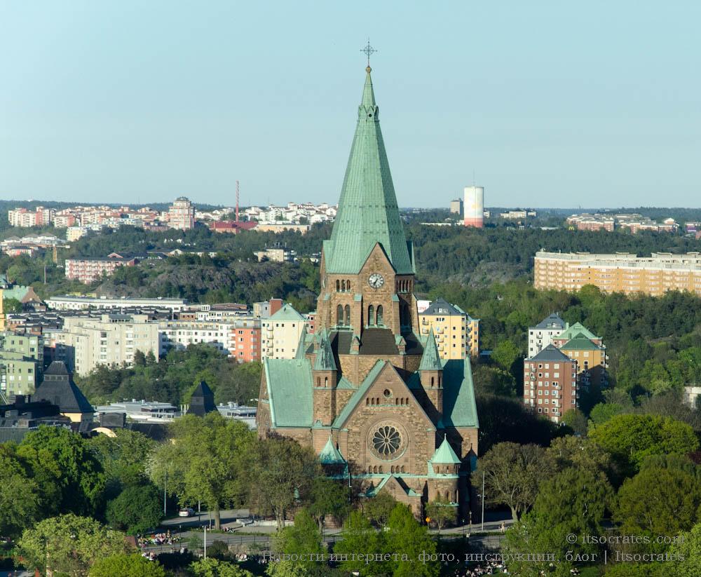 Церковь Софии в Содермальме, Стокгольм, Швеция