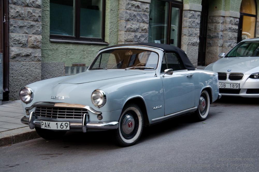 Автомобиль из Швеции, что да как - раритетные авто