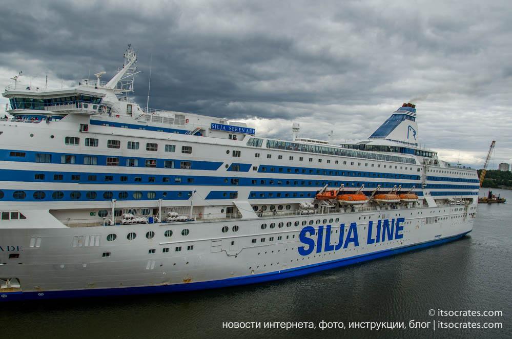 Путешествие на пароходе из Стокгольма в Таллин вместе с Silja Line