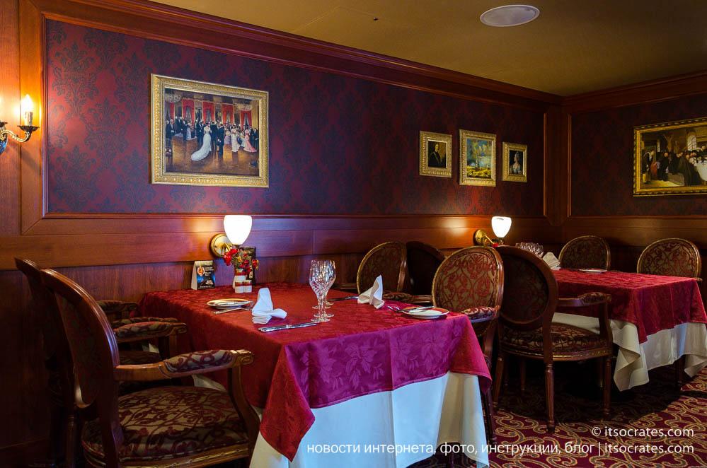 Паром из Стокгольма в Таллин вместе с Silja Line - русский ресторан на пароме