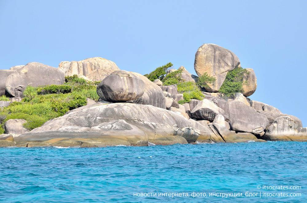 Райское местечко - Симиланские острова, Тайланд отчет о путешествии