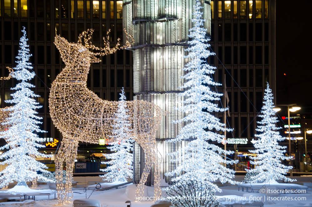 Где провести новый год - Стокгольм, Швеция
