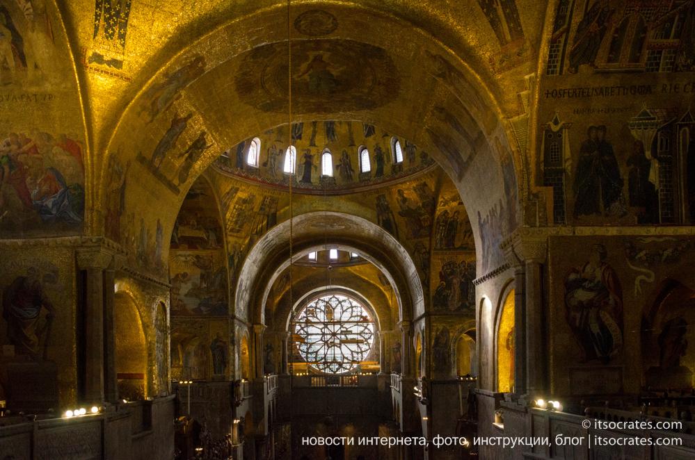 Собор Святого Марка в Венеции, Италия - фото и немного букв