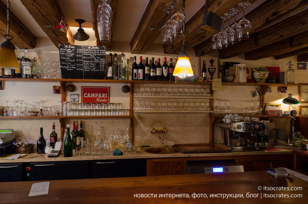 Где вкусно поесть в Венеции - Osteria La Bottega ai Promessi Sposi
