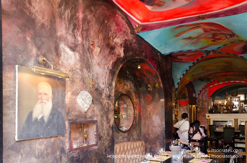 Еще одно замечательное кафе во Флоренции - Trattoria Za-Za