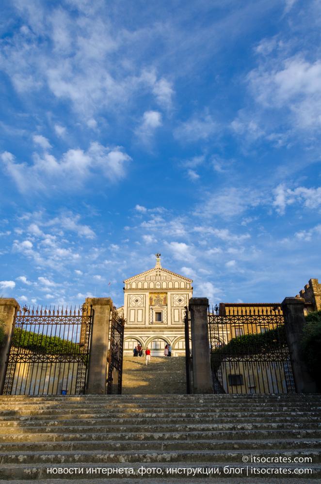 Площадь Микеланджело - Базилика Сан-Миниато-аль-Монте