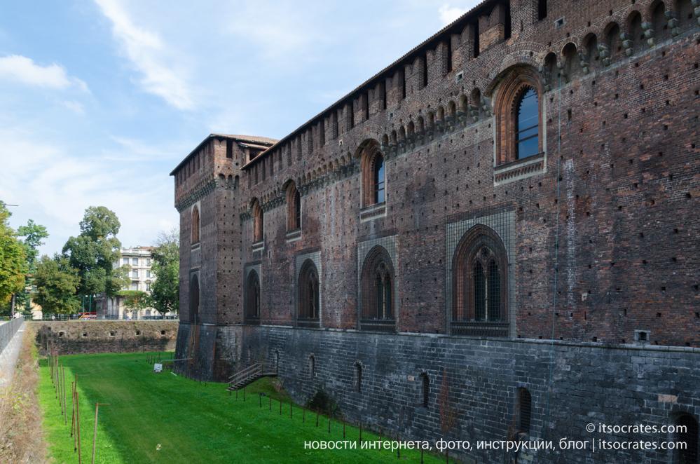 Замок Сфорца, Милан, Италия
