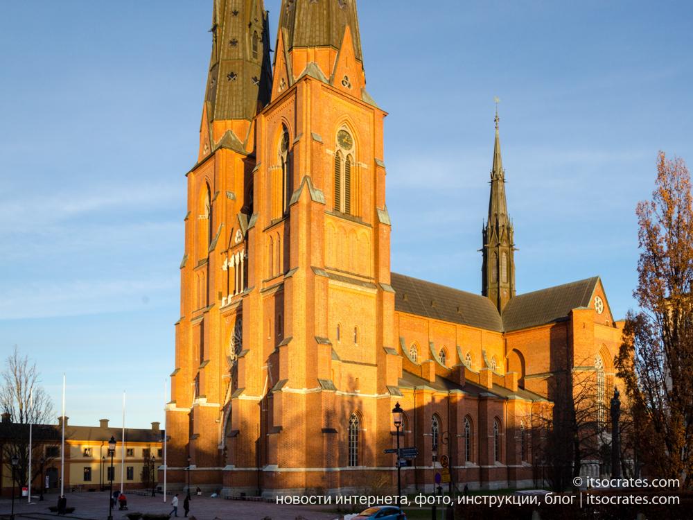 Уппсала, старая Уппсала, древняя столица Швеции