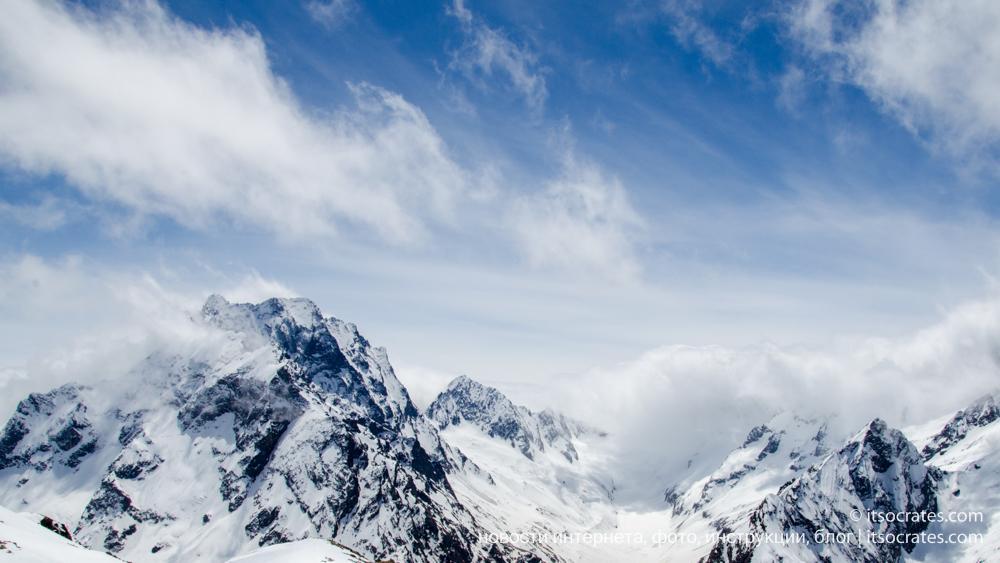 Домбай, Россия, Карачаево-Черкесская Республика, фото, горы, природа