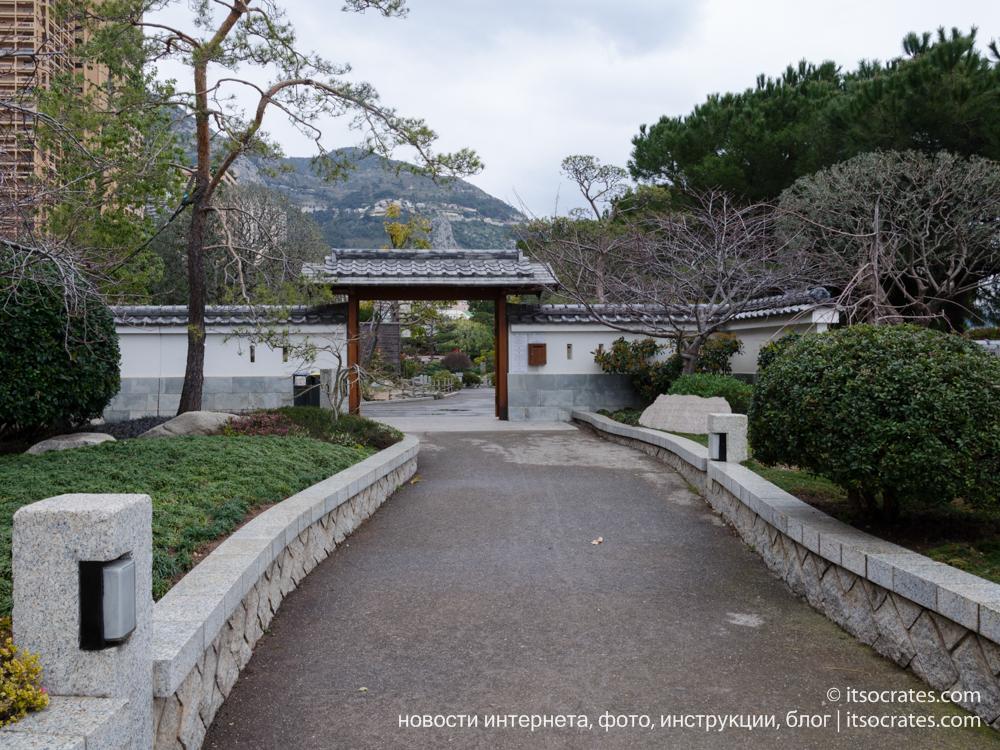 Японский сад в Монако, фото