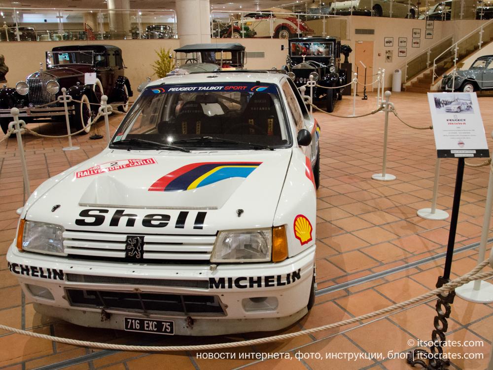 Музей автомобилей принца Ренье III в Монако