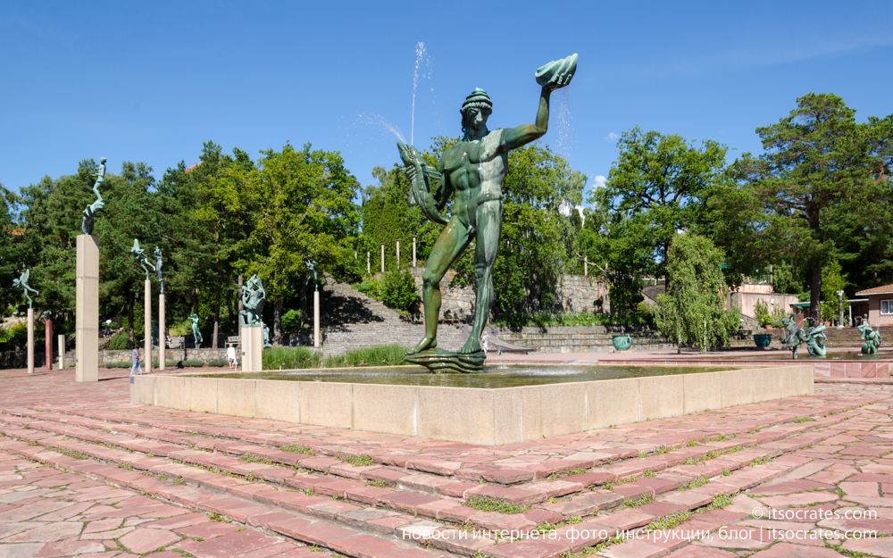 Музеи Стокгольма - Миллесгорден. Часть 1, фото, Швеция