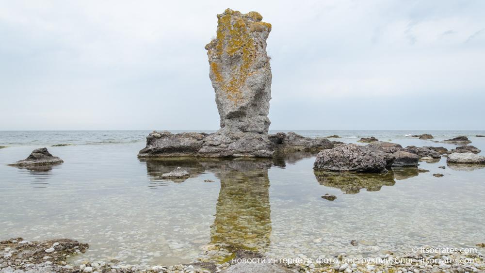 Самые интересное место на Готлнанде - это остров Форё (Фаро)