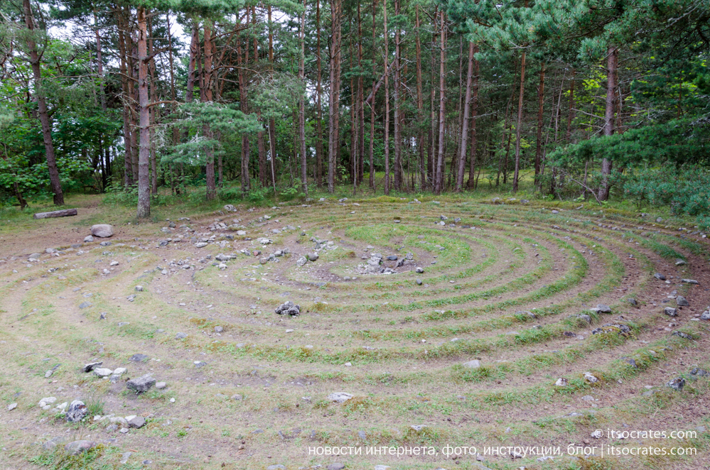 Остров Форё рядом с островом Готланд - кладбище домашних животных