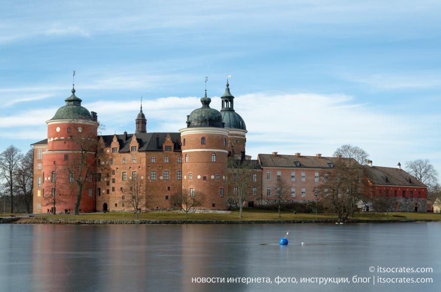 Дворцы и замки Швеции - Грипсхольм. Фото и описание.