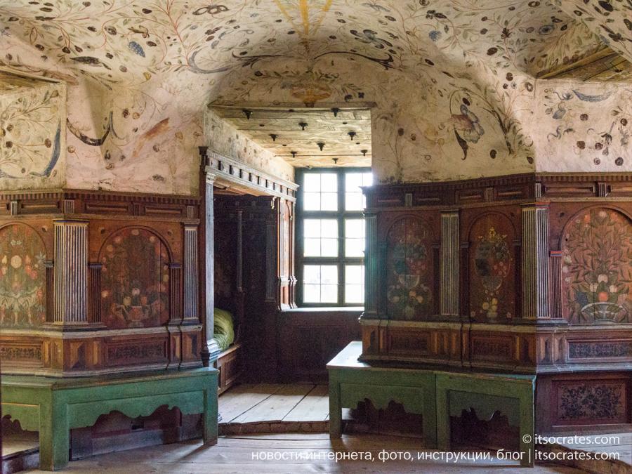 Замок Грипсхольм в Швеции - фото интерьеров замка