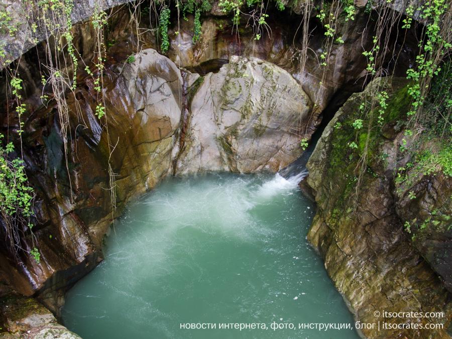 Ущелье Орридо в Беллано, фото водопада