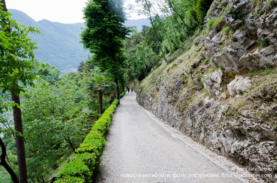 Дорога к Вилле Бальбьянелло