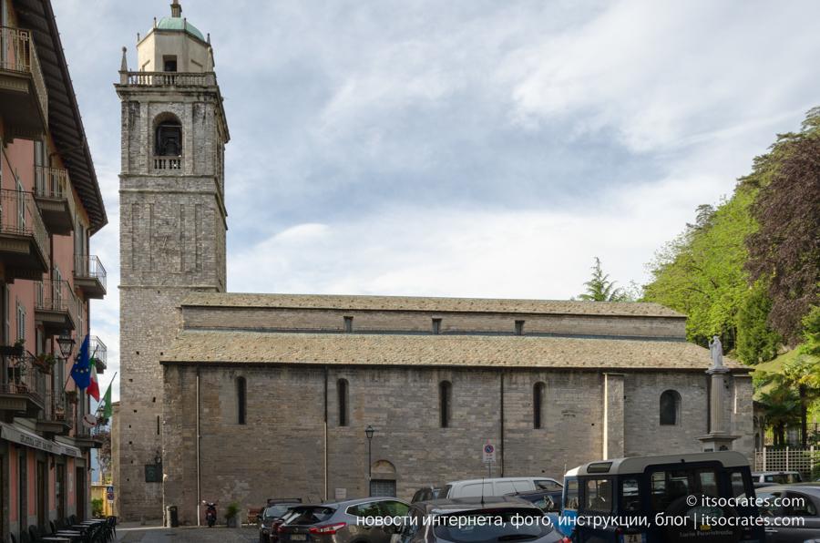 романо-ломбардийская базилика Сан Джакомо
