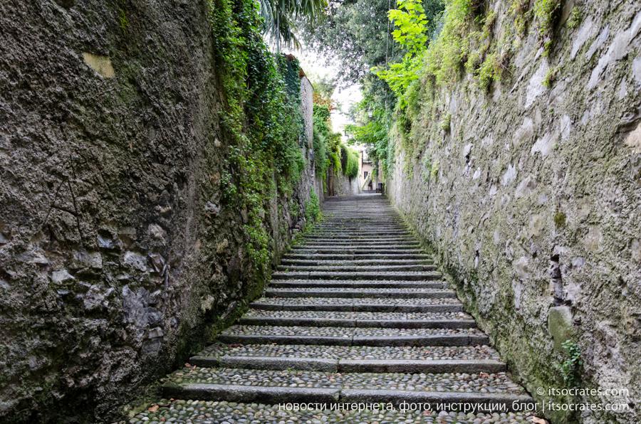 Что посмотреть в Белладжио - Trattoria San Giacomo, базилика Сан Джакомо, вилла Мельци, Вилла Тривульцио, Вилла Сербеллони