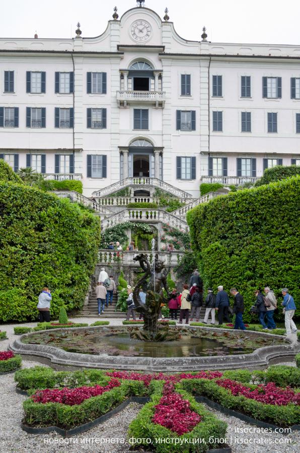 Вилла Карлотта - фото фасада виллы