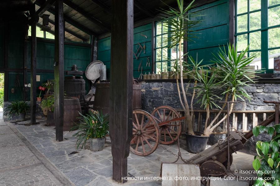 Вилла Карлотта - древнее оборудование садоводов для ухода за садом на вилле