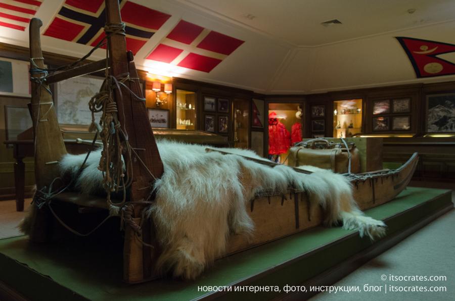Музей виллы Бальбьянелло графа Гвидо Монзино, его коллекции и интерьер виллы Бальбьянелло - артефакты путешествия на северный полюс и эверест