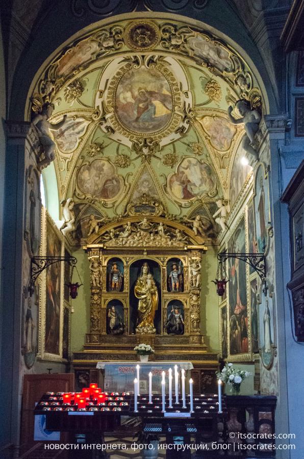 Деревня Беллано - озеро Комо - церковь Святых Назария и Цельсия