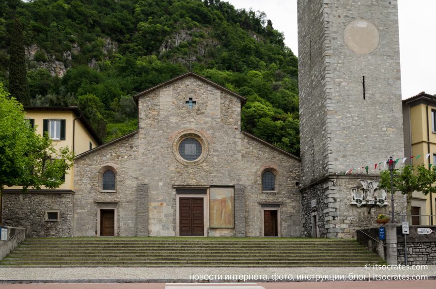 Варенна - озеро Комо - церковь Святого Георгия