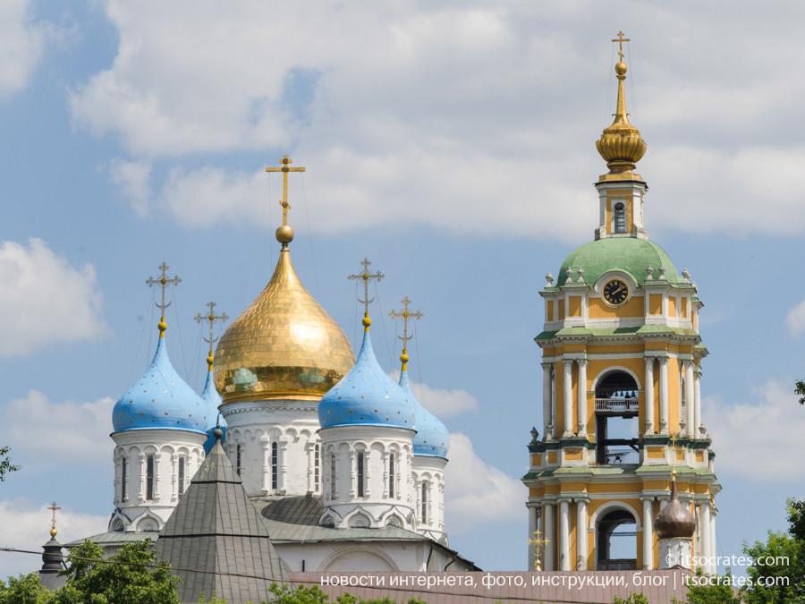Фото прогулка на речном трамвайчике по Москве реке - Новоспасский монастырь