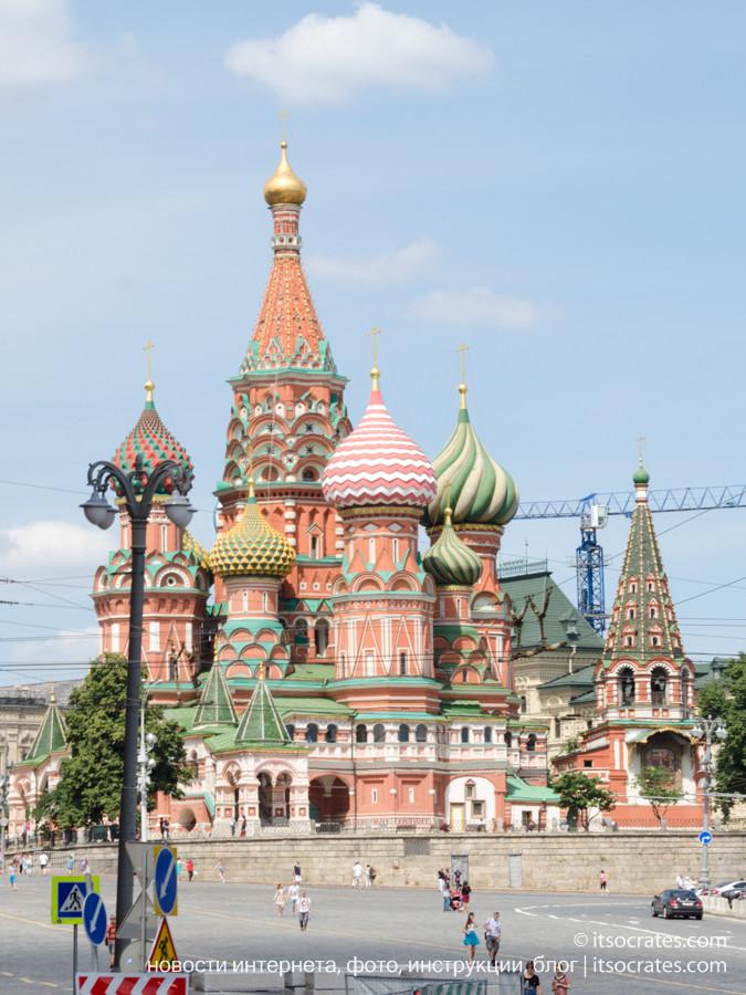 Фото прогулка на речном трамвайчике по Москве реке - Вид на Кремль