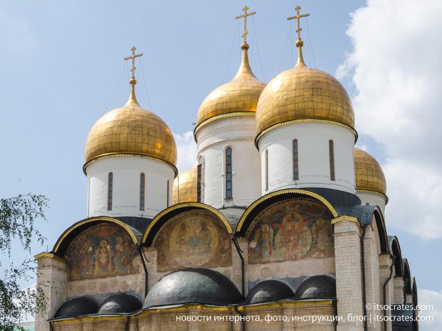 Музеи Московского Кремля - церковь Ризположения