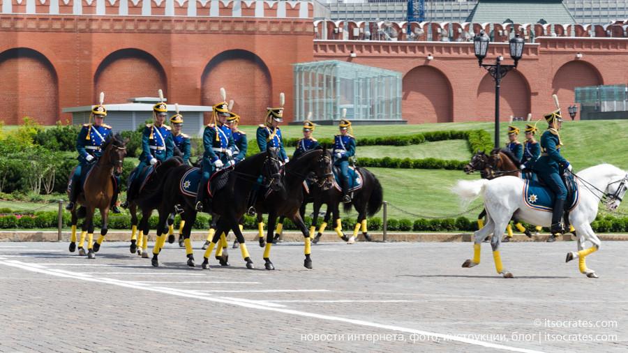 Музеи Московского Кремля конный конвой