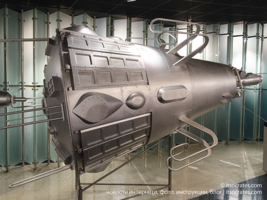 Музей космонавтики в Москве - Третий искусственный спутник Земли