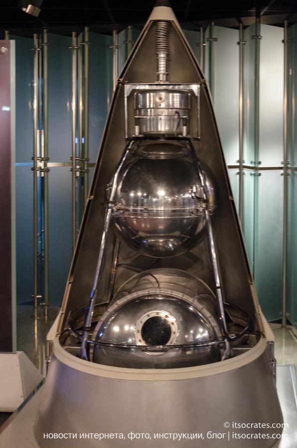 Музей космонавтики в Москве - Второй искусственный спутник Земли
