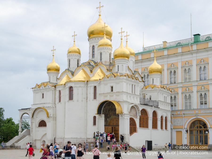 Соборная площадь в Кремле - Благовещенский собор