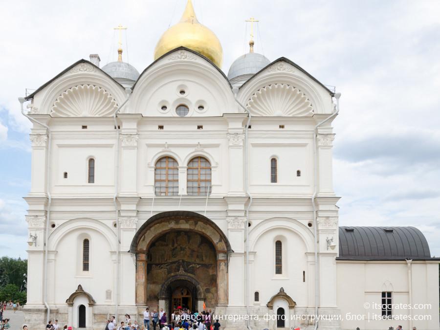 Соборная площадь в Кремле - Архангельский собор