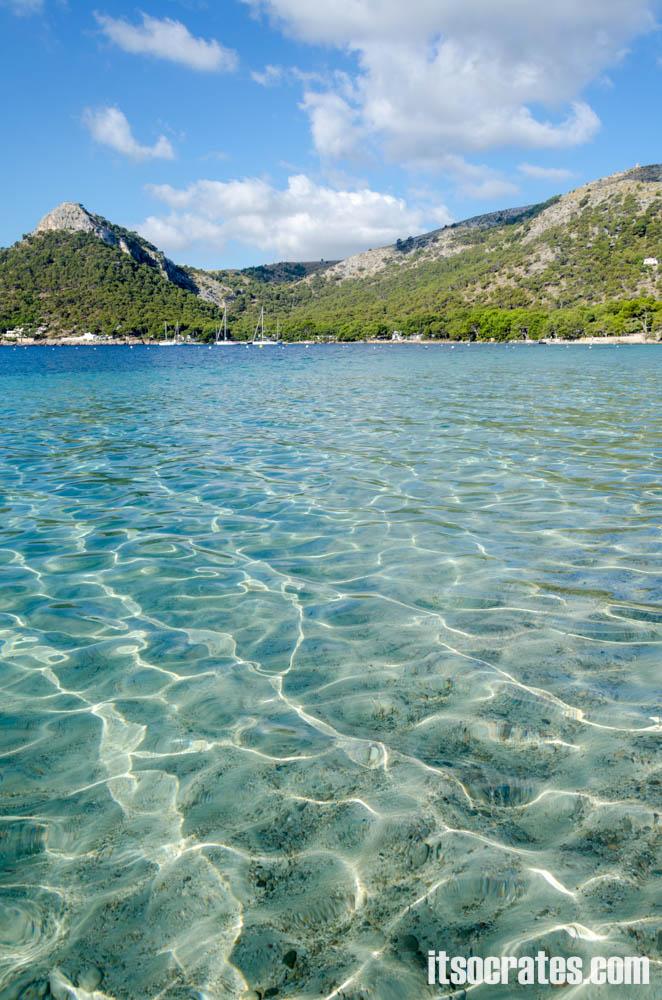 Пляжи острова Майорка - Кала Форментор - любимый пляж Черчиля