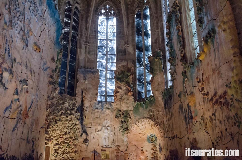 Кафедральный собор в Пальма-де-Майорка - отделка собора Гауди