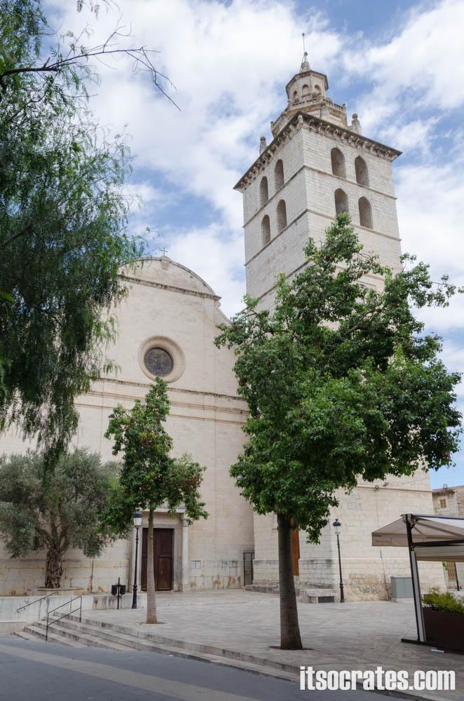 Город Инка на острове Майорка - церковь Санта-Мария-ла-Майор