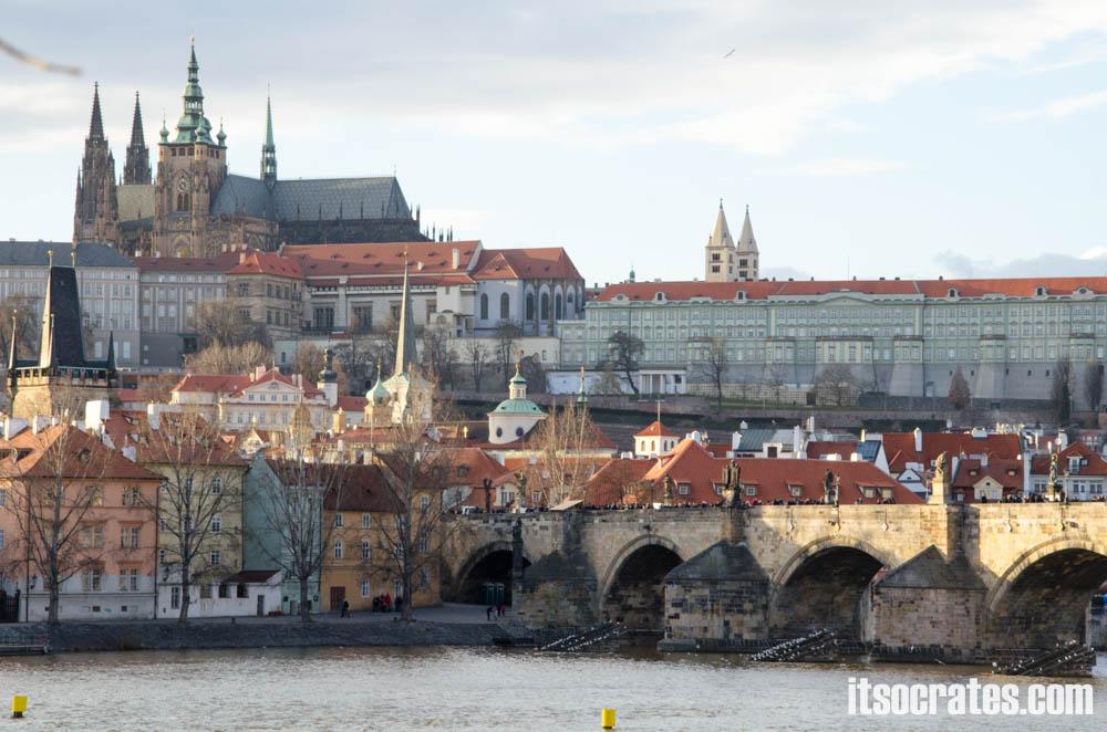 Достопримечательности Праги - Пражский град, одна из самых популярных достопримечательностей Праги