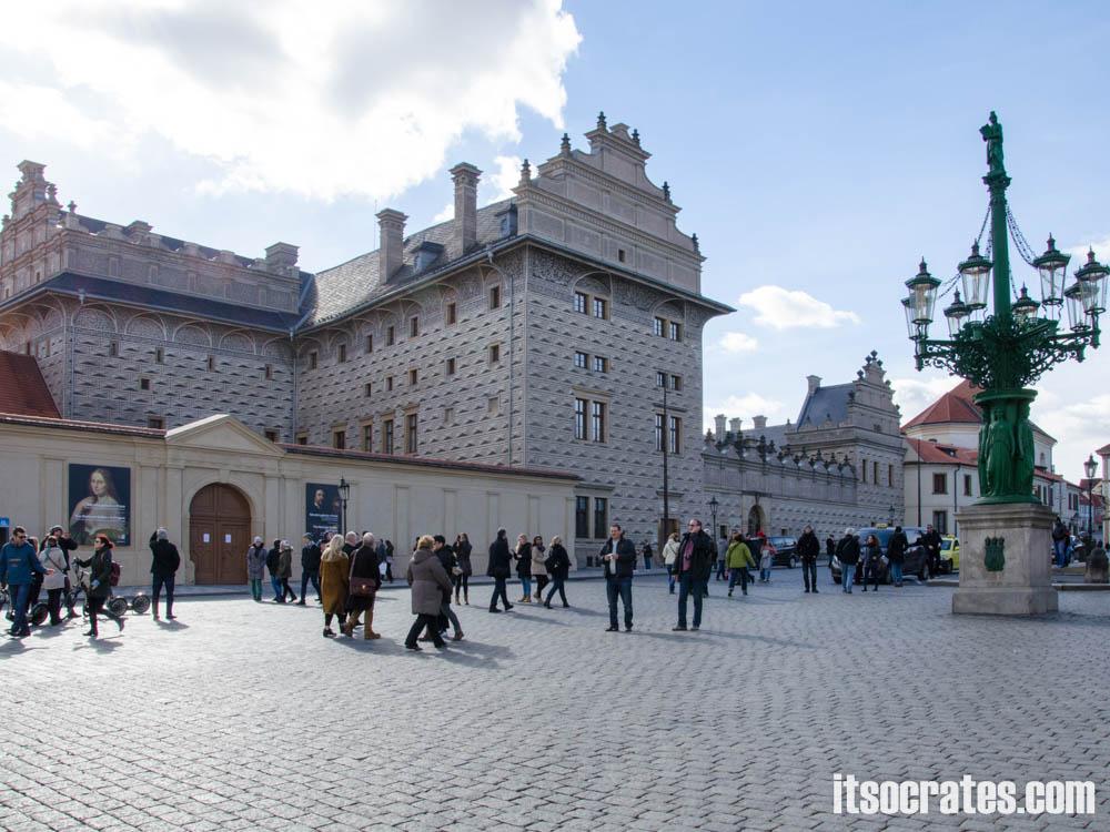 Достопримечательности Праги - Пражский град, Шварценбергский дворец