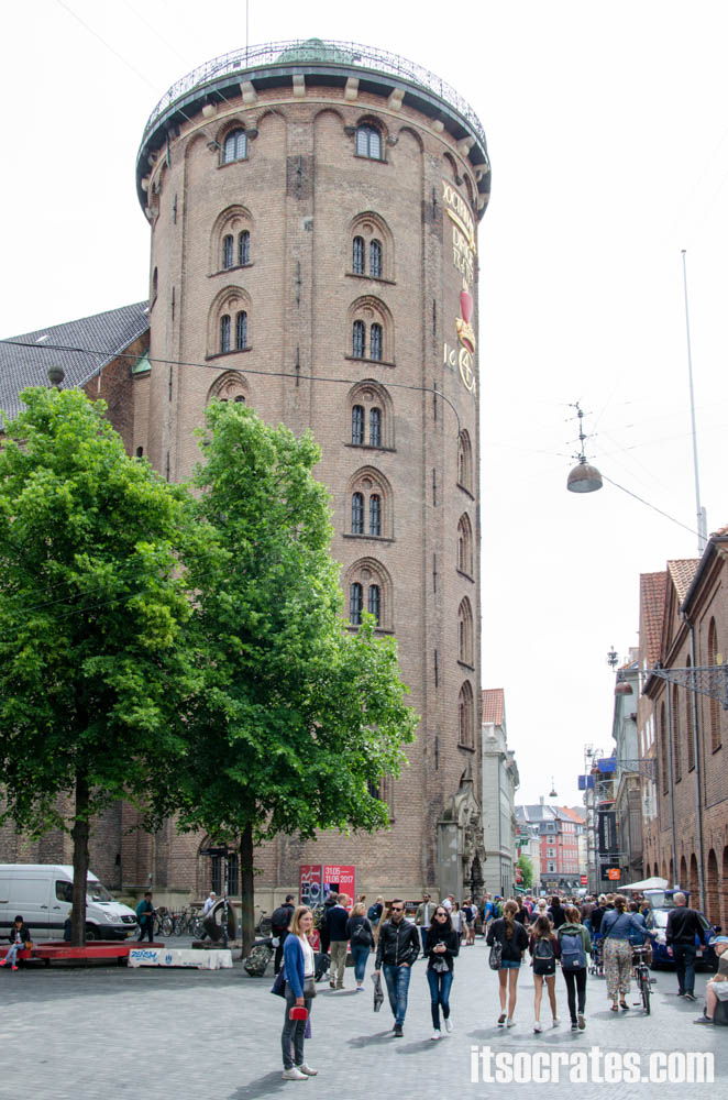 Достопримечательности Копенгагена, Дания - Круглая башня