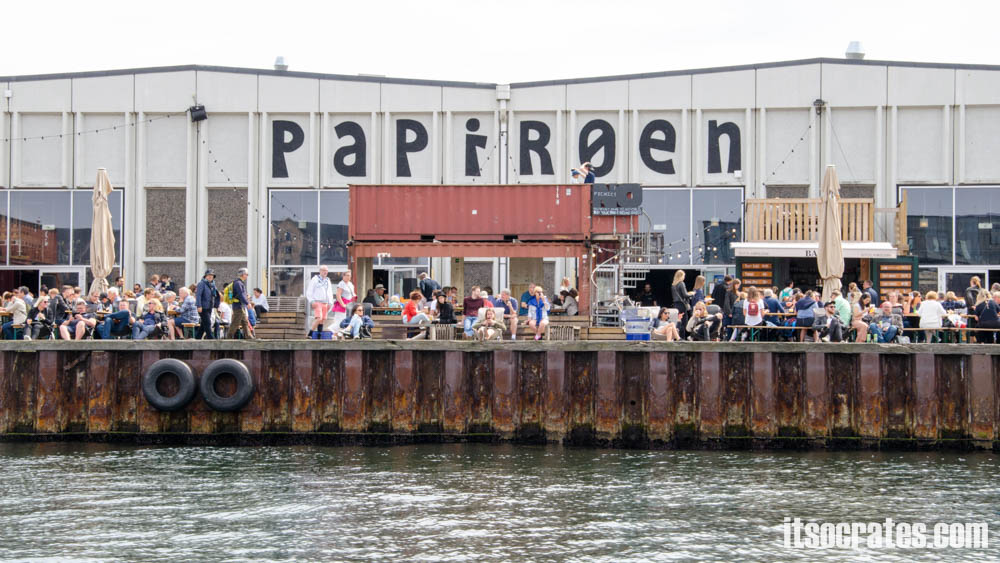 Достопримечательности Копенгагена, Дания - большой фудкорт Рефен