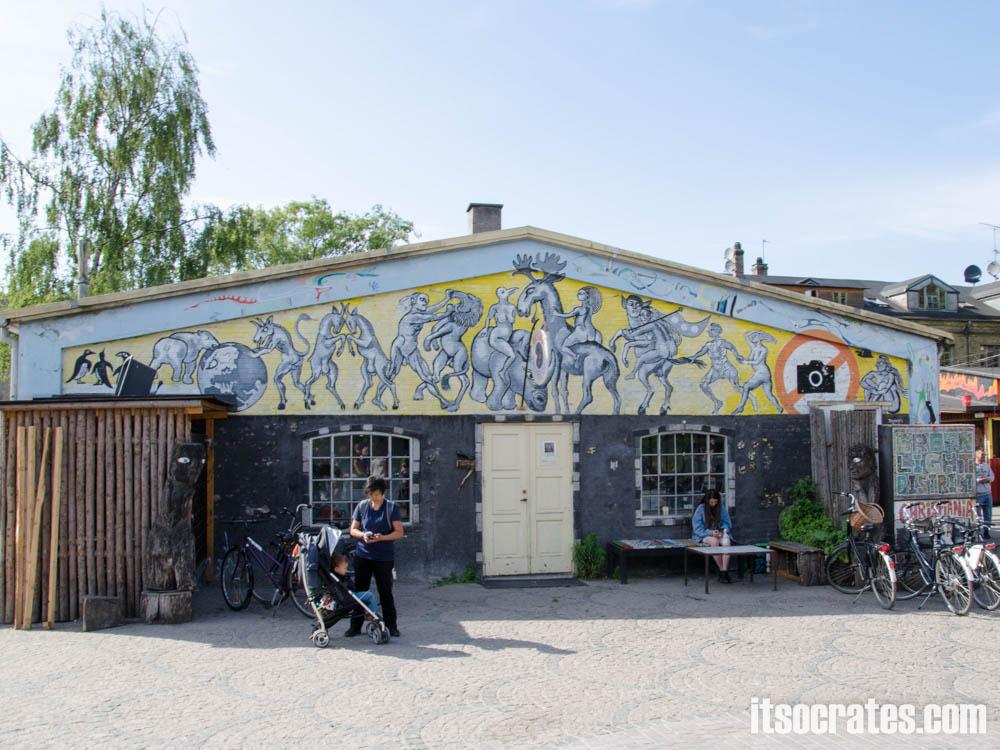 Достопримечательности Копенгагена, Дания - Кристиания