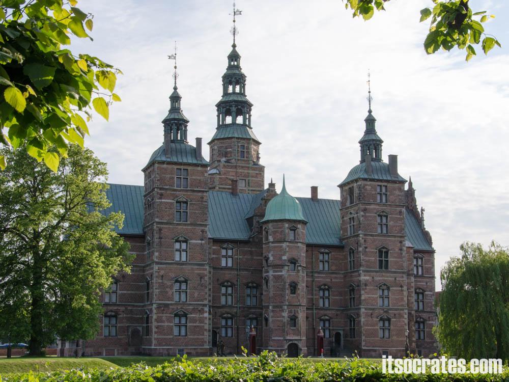 Достопримечательности Копенгагена, Дания - дворец Розенборг