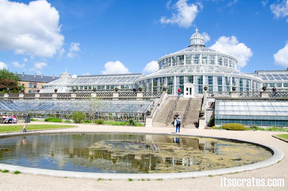 Достопримечательности Копенгагена, Дания - Ботанический сад