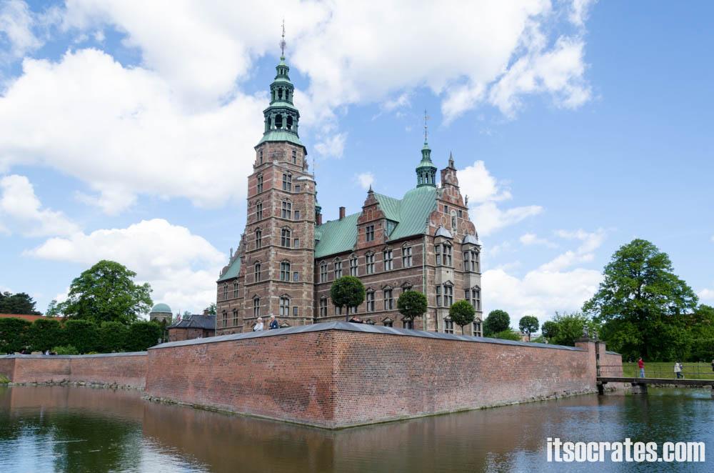 Замок Розенборг в Копенгагене, фото экспозиции и сокровищница